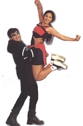 Prasanth and Simran in Jodi